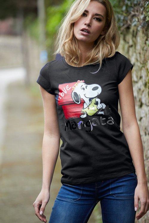 Camiseta MANGATA Básica Snoopy
