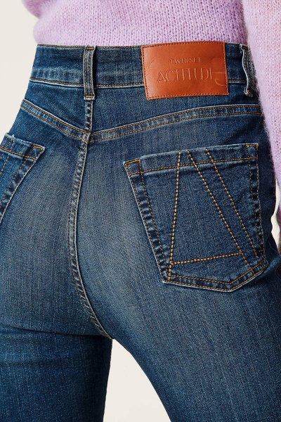 Jeans TWINSET Pitillo De Cintura Alta 212AP2211