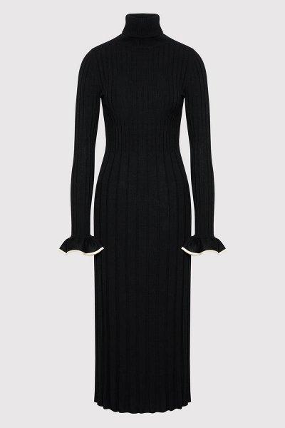 Vestido TWINSET De Punto Con Vivos 212TP3023