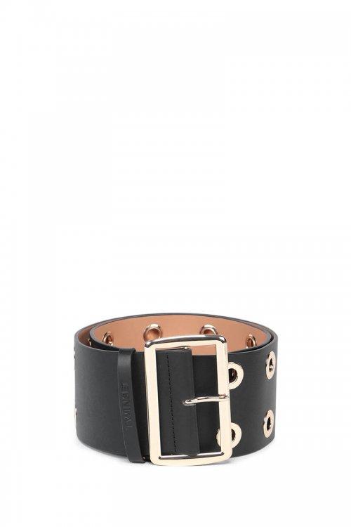 Cinturón TWINSET Negro De Piel 212TA411E