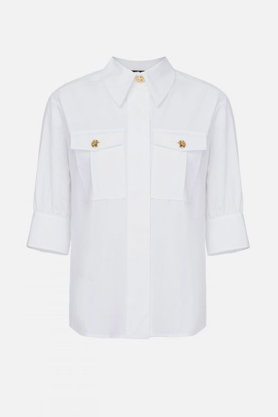 Camisa ELISABETTA FRANCHI Botones y Bolsillos CA28316E2