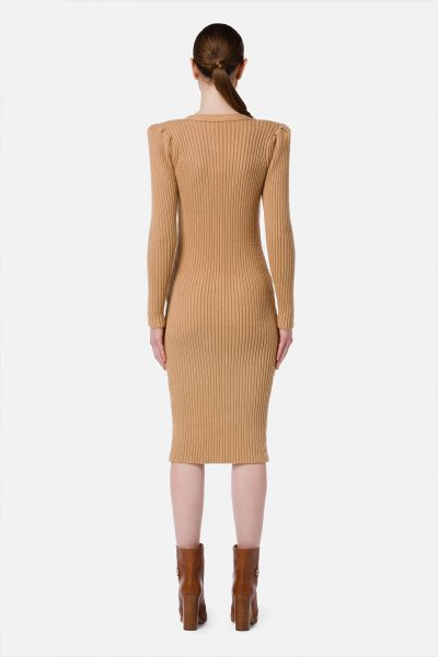 Vestido ELISABETTA FRANCHI Puno Botones AM44G16E2