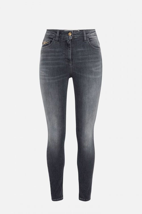Jeans ELISABETTA FRANCHI Detalle Corchete Dorado PJ24S16E2