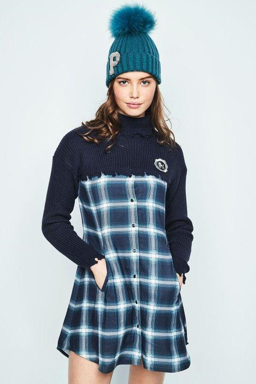 Vestido HIGHLY PREPPY Polo Azul 7798