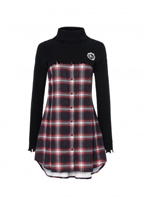 Vestido HIGHLY PREPPY Polo Negro 7798