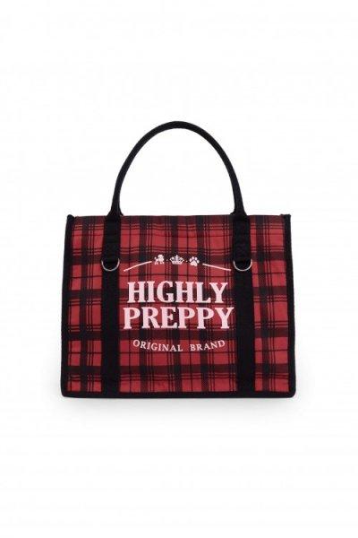 Bolso HIGHLY PREPPY Shopping Rojo C506