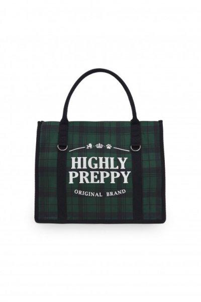 Bolso HIGHLY PREPPY Shopping Verde C506