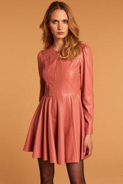 Vestido DENNY ROSE Ecopiel Vuelo 121DD10006