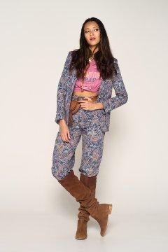Pantalón GUTS & LOVE Paisley Trousers P-21-2-004