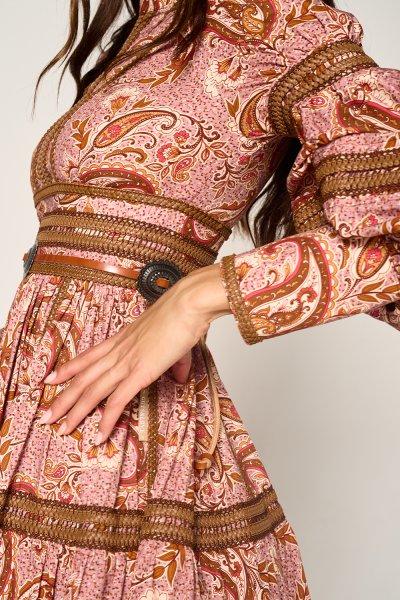 Vestido GUTS & LOVE Steppa Paisley V-21-0-020