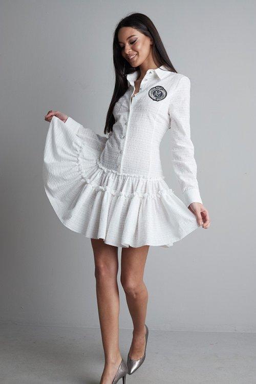 Vestido MANGATA Algodón Bordado 2102-0300