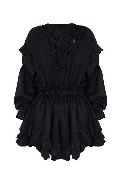 Vestido GUTS & LOVE Order Black V-21-0-015