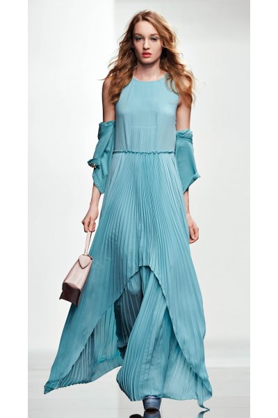 Vestido TWIN-SET Largo Plisado P2S5UE